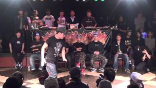 HOOK UP POP 2013.4.19【TOP16】MASATO VS KEI