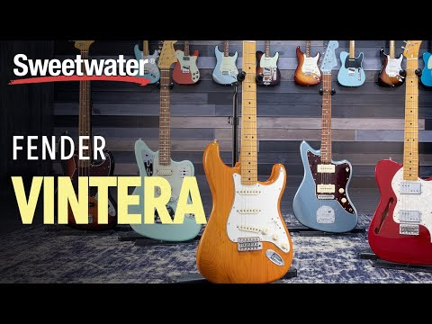 Fender Vintera Series Demo & Sounds