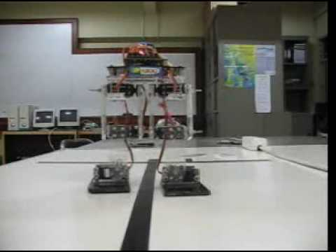 bipedal walking robot
