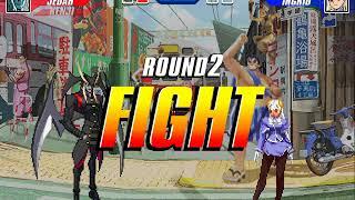 Fighting Game Bosses 160. Capcom Fighting Evolution - Ingrid mid-boss battle