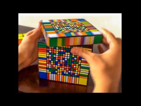 kid solved this rubik's cube in 3 seconds...