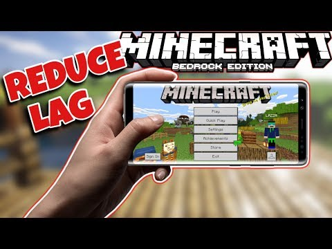 (BOOST FPS) How To Reduce Lag In Minecraft PE