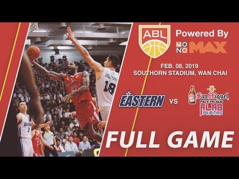 Hong Kong Eastern v San Miguel Alab Pilipinas | FULL GAME | 2018-2019 ASEAN Basketball League
