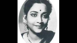 Geeta Dutt : Mere barbaad hone ka nazaara : Film - Anjaam (1952)