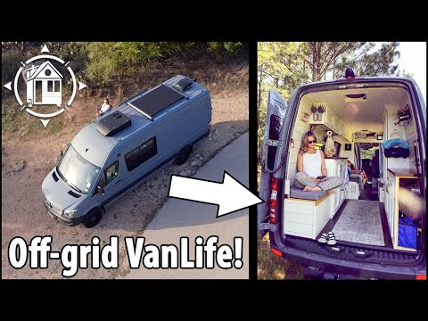 Sprinter Van Dwelling - They Sold Everything & Hit the Road!