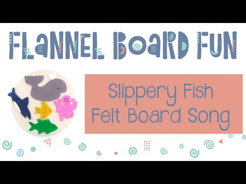 Ocean Octopus And Slippery Fish Felt Board Song For Preschool Circle Time And Library Storytime