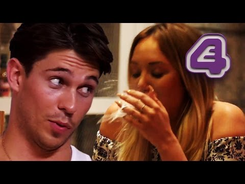 Charlotte Crosby Spits Up Milk During Her Date And Joey Essex Practices Flirting | Celebs Go Dating