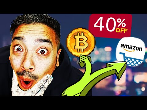 Amazon Gift Card Discount Get 40% OFF ALL PRODUCTS With Bitcoin!