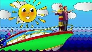 Клоун Дима и Маша. Спасение на вертолете. Мультфильм для детей ДиМаша 2