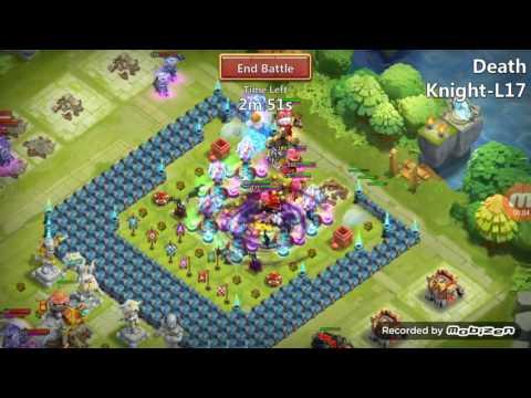 Castle Clash:L17 Death Knight(easy Win)