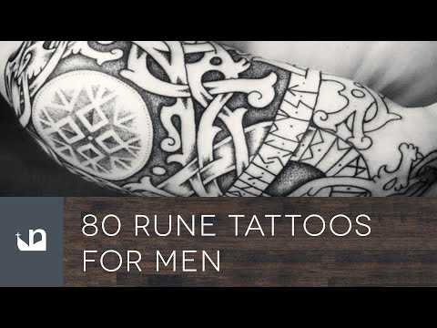 80 Rune Tattoos For Men