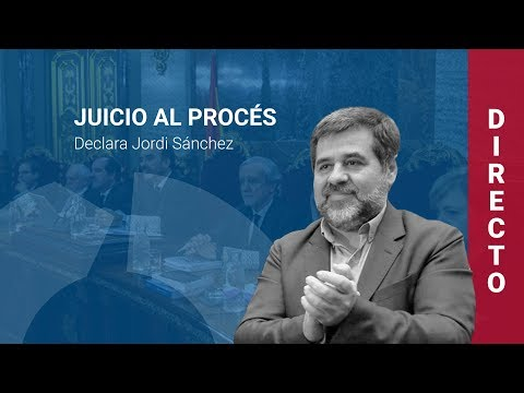 Santi Vila y Jordi Sànchez declaran en el juicio al procés (21/02/2019, mañana)