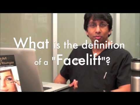 Amiya Prasad MD: When to Have a Facelift