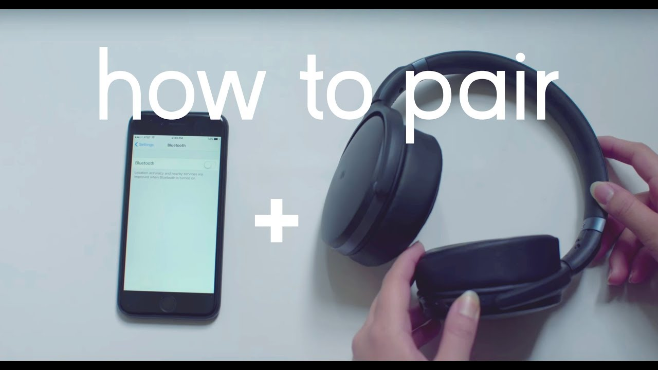 How To Pair and Reset Your Sennheiser HD 4 40 Headphones to Your Bluetooth  Device