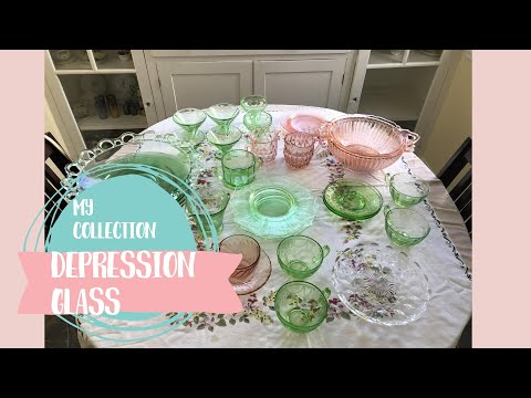 My Depression Glass Collection