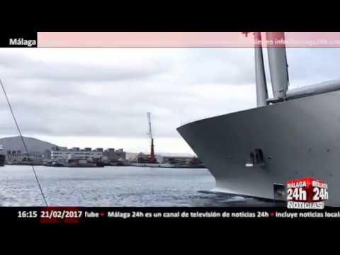 El velero más grande del mundo, retenido en Gibraltar por una deuda - Málaga 24h