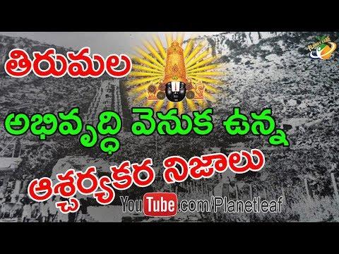 Amazing Facts Behind Tirumala Temple History || తిరుమల అభివృద్ధి ఎలా జరిగిందో మీకు తెలుసా?|| CC