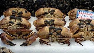 Цены на рыбу в Греции . Афинский рыбный рынок(Небольшая экскурсия на рыбный рынок Афин, цены на рыбу, разнообразие и виды рыбы и морских продуктов. ..., 2014-10-02T14:00:02.000Z)