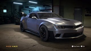 """Need for Speed 2015 - """"Chevrolet Camaro z28 2014"""" - 1279 HP Build !!! (Gameplay)"""