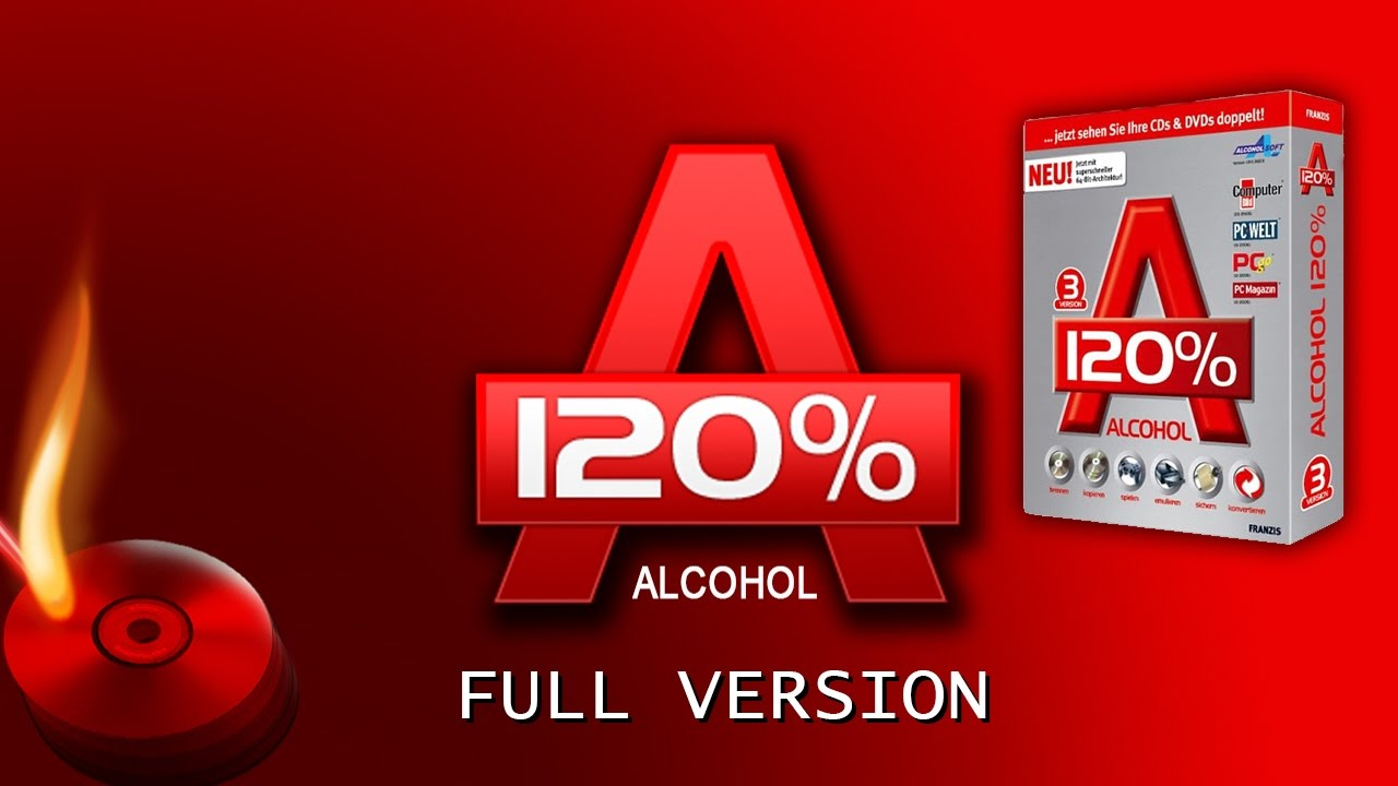 Alcohol 120 V2 0 1 2033 H33T Com Full 2019 Ver.1.7 Addon