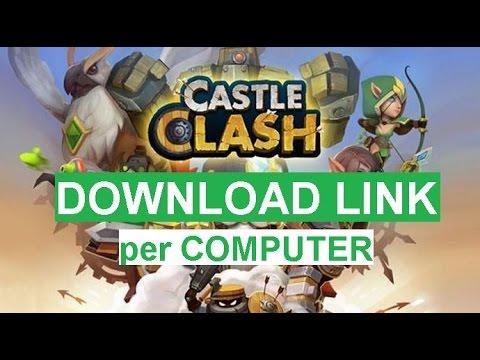 Come Scaricare CASTLE CLASH Gratis Per PC [HD] DOWNLOAD LINK ITA