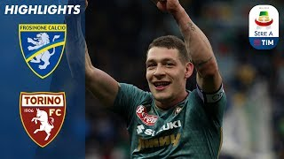 Frosinone 1-2 Torino | Visitors Come From Behind To Win! | Serie A