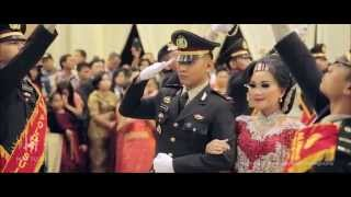 dr Sarah & IPDA Sonny | Video Pernikahan Upacara Pedang Pora (Wedding Clip Video Cinematic)