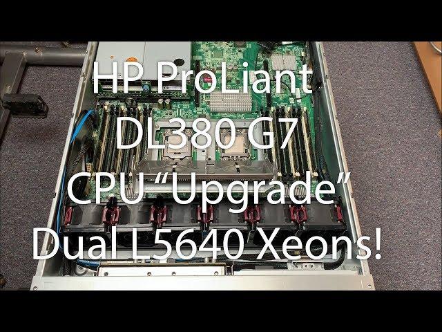 HP DL380 G7 - CPU