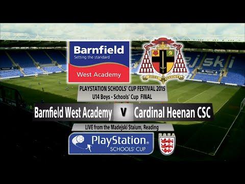 Highlights Under 14 Boys Final Barnfield West Academy v Cardinal Heenan