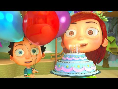 Happy Birthday Song - Funny Animation