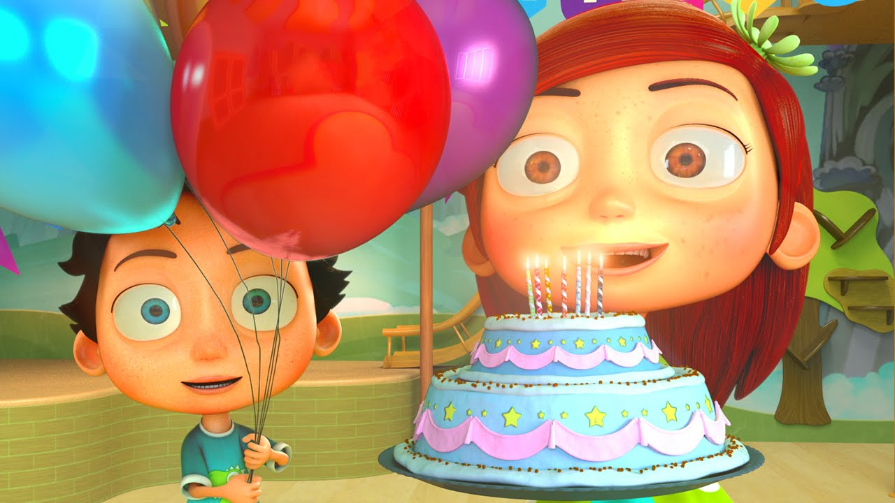 Happy Birthday Song Funny Animation Youtube