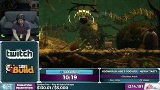 Oddworld Abe's Oddysee: New'n' Tasty by Starwin in 1:08:37 - SGDQ 2016 - Part 49