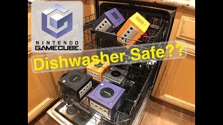 GameCube Dishwasher Safe?!?