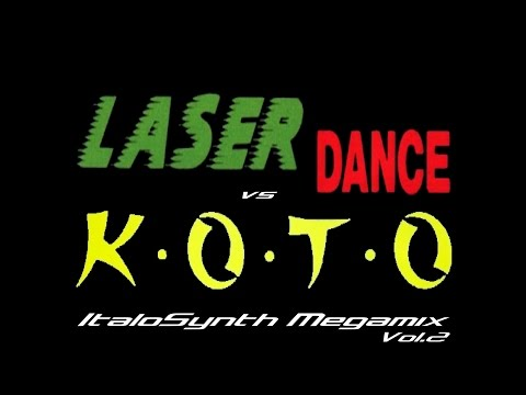 Laserdance Vs. Koto - ItaloSynth Megamix Vol.2 (By SpaceMouse) [2012]