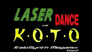 Laserdance Vs Koto ItaloSynth Megamix Vol 2 By SpaceMouse 2012