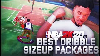 99% OF DRIBBLERS USES THESE SIZE UP PACKAGES IN NBA 2K20! BEST DRIBBLE SIZEUP PACKAGES ON NBA 2K20
