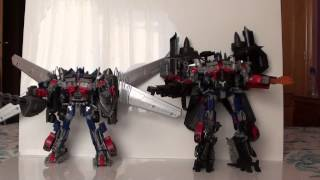 Video Review comparativa Transformers Optimus Prime Jetwing DOTM y Fans want it 3  por Javitron en Español download MP3, 3GP, MP4, WEBM, AVI, FLV Maret 2018
