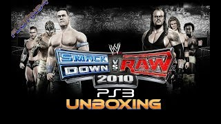 WWE Smackdown vs Raw 2010 PS3 UNBOXING | FloTin