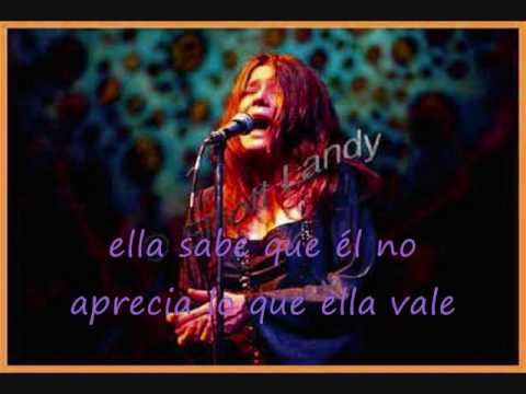 Janis Joplin, A Woman to left lonely [subtitulada]