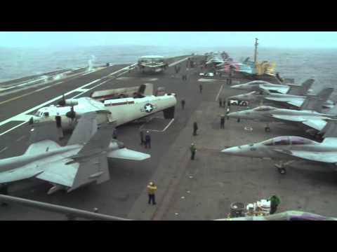 สหรัฐเชิญทหารจีนเยือนเรือบรรทุกเครื่องบิน