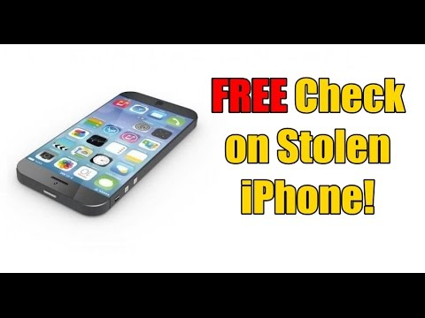 how to tell if a iphone is stolen