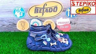 Детские текстильные мокасины Befado Speedy 110P322. Видео обзор от STEPIKO