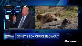 Cramer: Disney's stock can continue to go up