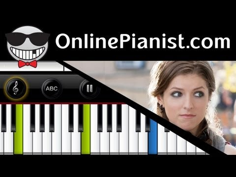 Anna Kendrick - Cups (When I'm Gone - Pitch Perfect) - Easy Piano Tutorial & Sheet