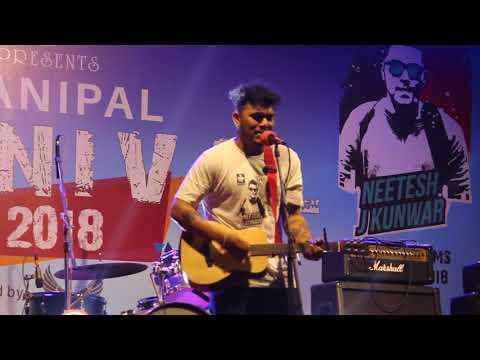 Hamro Nepal Ma - Neetesh Jung Kunwar - Live in Manipal college Pokhara
