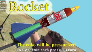 Repeat youtube video 12° Coke and Mentos Rocket , Razzo Missile a base di Cocacola
