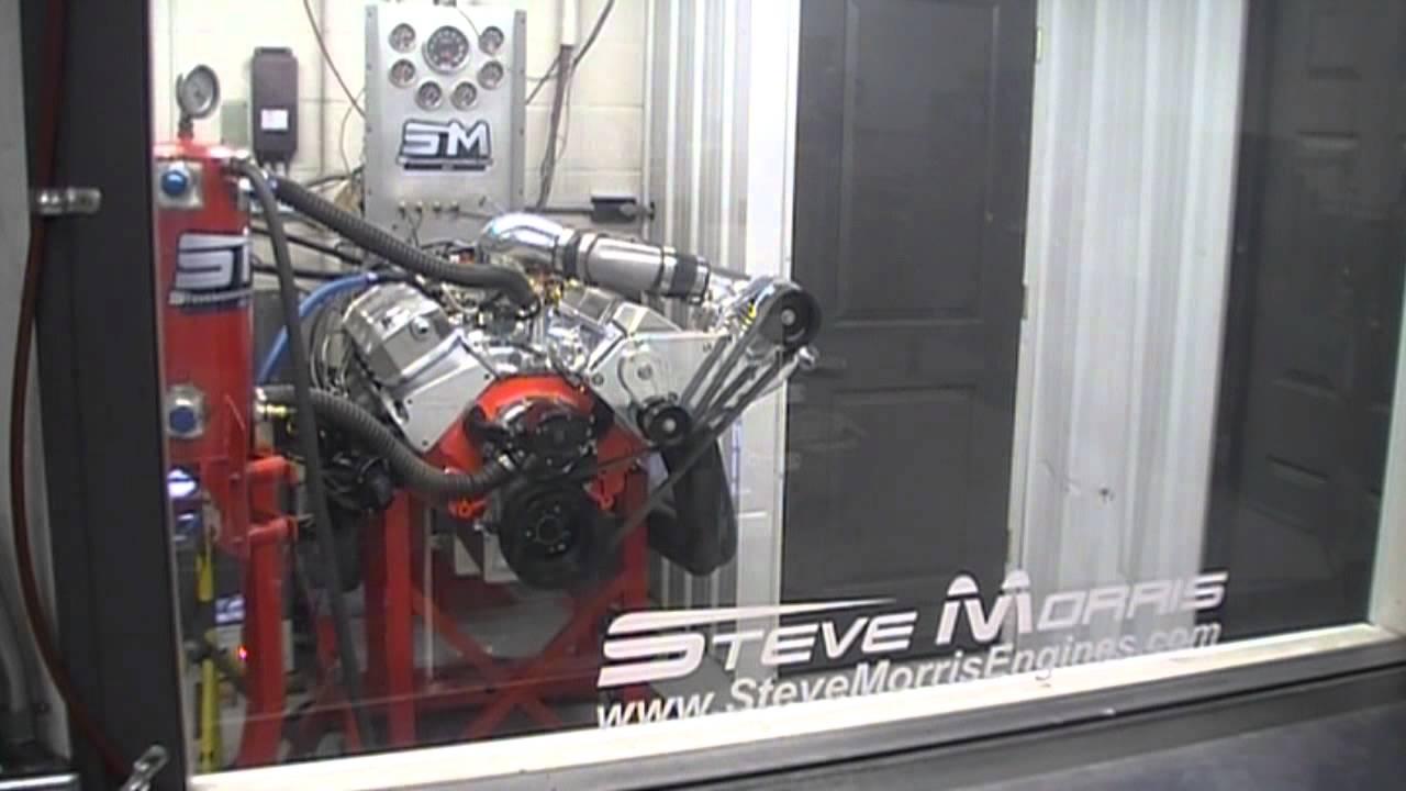 Brad Beach's D1SC ProCharged 540BBC Pump Gas Motor