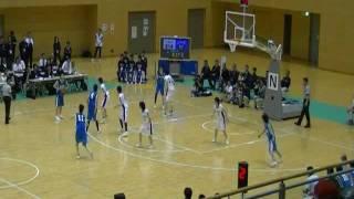 第66回山口国民体育大会 バスケットボール 少年女子決勝 北海道vs山...