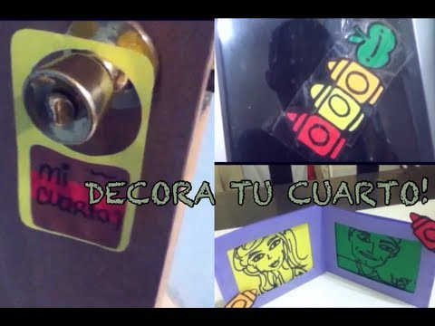 Como decorar mi cuarto economico 3 ideas for Cosas recicladas para decorar tu cuarto