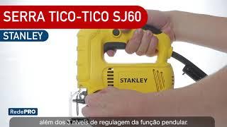 Oferta Imbatível - Serra Tico Tico SJ60 + Trena a Laser 9m Stanley STHT77425